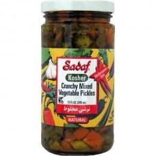 Crunchy mixed vegi pick Sadaf 12oz