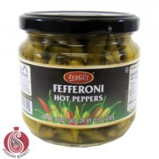 Fefferoni H.peppers Zergut 12oz